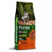 Monge Dog Grain Free беззерновой корм для собак утка с картофелем 2,5 кг (12 кг)