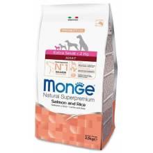 Monge Dog Speciality Extra Small Adult для взрослых собак миниатюрных пород лосось с рисом - 2,5 кг