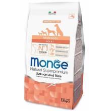 Monge Dog Speciality Adult Salmon сухой корм для взрослых собак всех пород лосось с рисом - 2 кг (12 кг)