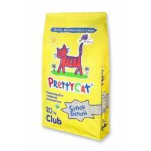 Наполнитель PrettyCat Cупер белый комкующийся для кошачьих туалетов с ароматом лаванды 5 кг (10 кг) (20 кг)