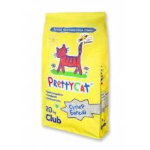 Наполнитель PrettyCat Супер белый с ароматом ванили 5 л  (10 кг) (20 кг)