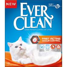 Наполнитель Ever Clean Fast Acting комкующийся наполнитель для кошек мгновенный контроль запахов 6 л (10 л)