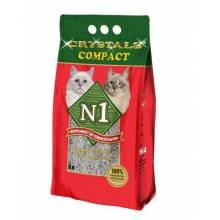 Наполнитель N1 Compact комкующийся для кошачьего туалета 5 л