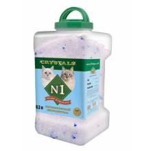 Наполнитель N1 Crystals силикагелевый для кошачьего туалета 8,3 л