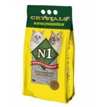 Наполнитель N1 комкующийся для кошачьего туалета 5 л