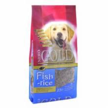 Nero Gold Adult Dog Fish & Rice сухой корм супер премиум класса для взрослых собак с рыбным коктейлем, рисом и овощами - 2,5 кг (12 кг)
