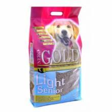 Nero gold senior light сухой корм для пожилых собак с индейкой и рисом 12 кг