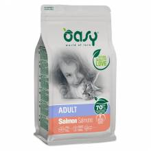 Oasy Dry Cat Adult Salmon сухой корм для кошек с лососем - 1,5 кг (7,5 кг)