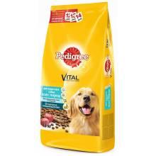 Pedigree сухой корм с говядиной для взрослых собак всех пород - 13 кг