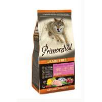 Primordial сухой беззерновой корм для щенков с курицей и рыбой 2 кг (12 кг)