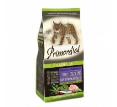Сухой беззерновой корм Primordial для стерилизованных кошек с индейкой и сельдью 2 кг