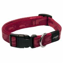Ошейник для собак ROGZ Alpinist M-16мм (Красный)