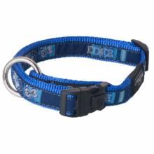 Ошейник для собак ROGZ Fancy Dress L-20мм (Синий)