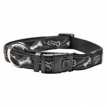 Ошейник для собак ROGZ Fancy Dress XL-25мм (Черный)