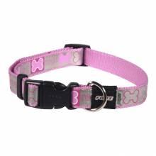 Ошейник для собак ROGZ Reflecto M-16мм (Розовый)