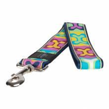 Поводок для собак ROGZ Fancy Dress XXL-40мм 0,5 м (Многоцветный Поп-Арт)