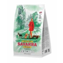 Savarra Adult Dog Small Breed Сухой корм для взрослых собак мелких пород с уткой и рисом 1 кг (3 кг) (18 кг)