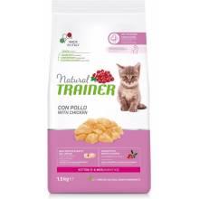 Сухой корм Trainer Natural для котят с курицей для котят - 1,5 кг