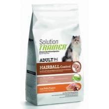 Сухой корм супер премиум класса Trainer Solution Hairball With Fresh Chicken для кошек для выведения шерсти со свежей курицей - 300 г (1,5 кг)