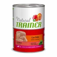Консервы Trainer Natural M/M Puppy and Junior для щенков и юниоров средних и крупных пород - 400 г х 12 шт
