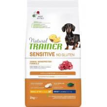 Trainer Natural Sensitive сухой корм для взрослых собак мелких пород без глютена c ягненком - 800 г (2 кг) (7 кг)