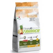 Trainer Fitness3 No Gluten Medium/Maxi Adult Duck and Rice на основе утки и риса - 3кг (12,5 кг)