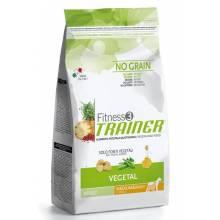 Trainer Fitness3 No Grain Medium/Maxi Adult Vegetal для взрослых собак средних и крупных пород вегетарианский - 3 кг (12 кг)