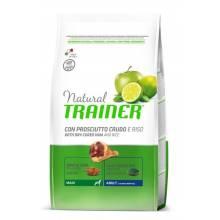 Сухой корм Trainer Natural Maxi Adult для взрослых собак крупных пород с сыровяленой ветчиной и рисом - 3 кг (12 кг)