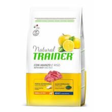Сухой корм Trainer Natural Small and Toy для взрослых собак мелких и миниатюрных пород с говядиной и рисом - 800 г (2 кг) (7 кг)