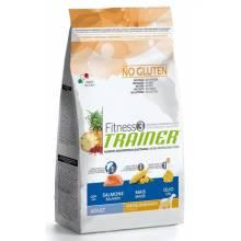 Trainer Fitness3 No Gluten Medium/Maxi Adult Salmon and Maize на основе лосося и кукурузы - 12,5 кг