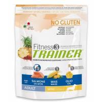 Trainer Fitness3 No Gluten Mini Adult Salmon and Maize на основе мяса лосося с добавление кукурузы и масла - 2 кг