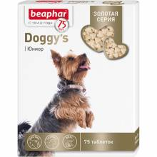 Витамины Beaphar Doggy`s Junior для щенков - 75 таб