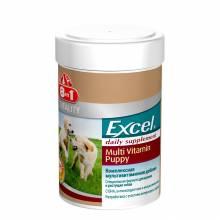 8 in1 Excel Multi Vitamin Puppy Мультивитамины для щенков всех пород - 100 таб.
