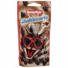 Beaphar Malthearts для кошек Сердечки для вывода шерсти из желудка 150 шт