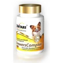 Unitabs BrewersComplex с Q10 витамины для мелких собак 100 таб.