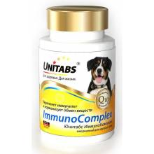 Unitabs ImmunoComplex с Q10 комплекс витамин для крупных собак 100 таб.