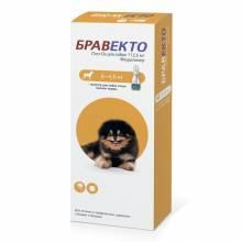 Intervet Бравекто капли от блох и клещей для собак массой от 2 до 4,5 кг
