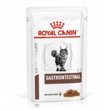 Royal Canin Gastrointestinal влажный диетический корм для взрослых кошек при нарушении пищеварения в паучах - 85 г х 12 шт