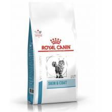 Royal Canin Skin & Coat сухой диетический корм для стерилизованных кошек с чувствительной кожей - 1,5 кг