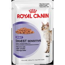 Royal Canin Digest Sensitive влажный корм в соусе для взрослых домашних кошек с чувствительным пищеварением 12 шт х 85 гр