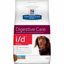 Hill's Prescription Diet i/d Stress Mini Digestive Care сухой диетический корм для собак мелких пород для поддержания здоровья ЖКТ и при стрессе с курицей 1,5 кг (5 кг)