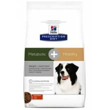 Hill's Prescription Diet Metabolic + Mobility лечебный сухой корм для собак при заболевании суставов с курицей 12 кг