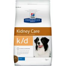 Hill's Prescription Diet k/d Kidney Care сухой корм для собак при профилактике заболеаний почек 2 кг (12 кг)