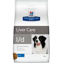 Hill's Prescription Diet l/d Liver Care - лечебный корм для собак при заболевании печени 2 кг (5 кг) (12 кг)
