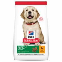 Hill's Puppy Large Breed Chicken для щенков крупных пород 12 кг