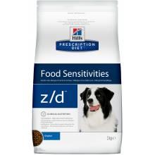 Hill's Prescription Diet z/d Food Sensitivities - сухой корм при пищевой аллергии для собак 3 кг (10 кг)