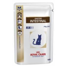 Royal Canin Cat Gastro Intestinal Feline консервированный диетический корм для взрослых кошек и котов всех пород при нарушении пищеварения - 100 гр. х 12 шт.