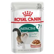 Royal Canin Instinctive +7 (в желе) паучи для кошек старше 7 лет 12 шт х 85 гр