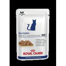 Royal Canin Neutered Adult Maintenance для поддержания нормальной массы тела и мышечного тонуса кошек - 100 гр х 12 шт.