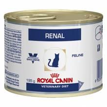 Royal Canin Renal для кошек у которых диагностирована почечная недостаточность или печеночная энцефалопатия - 195 гр. х 12 шт.